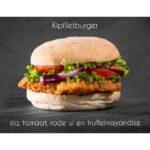 Kipfiliet burger